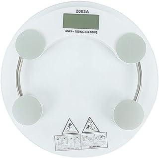 ZHAJIAN Índice Corporal Básculas de pesaje Inteligentes electrónicas Báscula de Grasa de baño Pantalla LCD Digital de Piso de Peso Humano