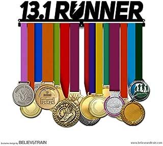 Believe&Train 13.1 Runner - Running Medal Hanger