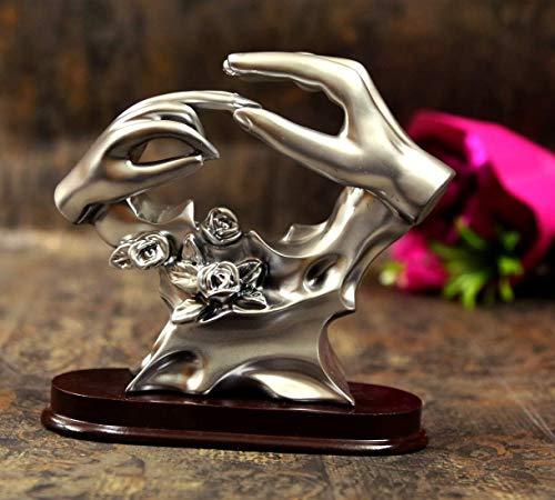 ASP Online Traders Paar Gift Show Stuk voor Valentijn Geschenken, Liefde Huwelijk Geschenken, Verloving Ring Standbeeld showpiece en Home Decor