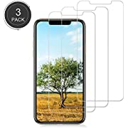 [3 Pack] iPhone XR Screen Protector,3D Touch,9H Hardness,No Bubble,Anti-Scratch,Tempered Glass Screen Protector Compatible with iPhone XR (6.1inch 2018 Release).