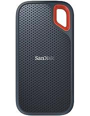 SanDisk ポータブルSSD 500GB 【PS4 メーカー動作確認済】 USB3.1 Gen2 防滴 耐振 耐衝撃 SDSSDE60-500G-J25 Extreme Portable 3年保証