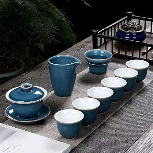 ZQADTU Taza de cerámica exquisita de la tetera del viaje del té para el hogar