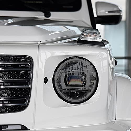 YYHHADM Car Headlight Protective Film Taillight Smoked Black Tint Wrap TPU Sticker,for Mercedes Benz G Class W463 2019-Present AMG