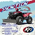 "RPM KFI 54"" ATV Steel Blade Snow Plow Kit - 2016-2019 Can-Am Outlander 570 / 570MAX"