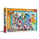 Trefl, Puzzle de 100 Piezas, el Equipo de Top Wing, para niños a Partir de 5 años