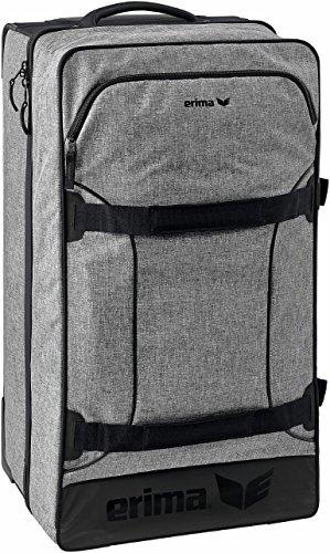 Erima Line Travel Trolley, grau Melange, M