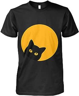 Solar Eclipse Black Cat Yellow Eye Full Moon shirt Halloween, Tees, Short Sleeves Shirt, Unisex Hoodie, Sweatshirt For Mens Womens Ladies Kids