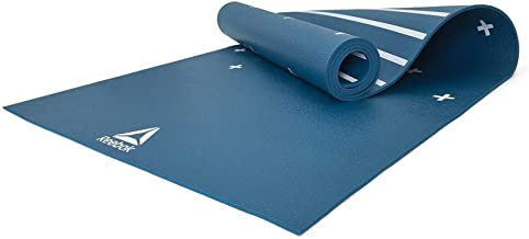 """DOUBLE SIDED 4MM YOGA MAT- """"STRIPES GREEN """""""