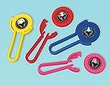 Amscan 398053 Power Rangers Ninja Steel Disc Shooter, Party Favor, Multicolor