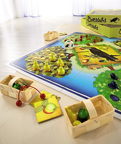 Image of HABA Orchard Game - A Classic Cooperative Introduction to Board Games for Ages 3 and Up (Made in Germany)