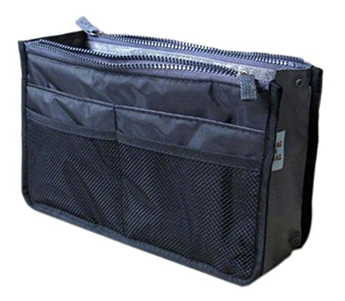 multifonction pochette de Voyage Portable Wash Bag Cosmetic Bag, Bleu foncé