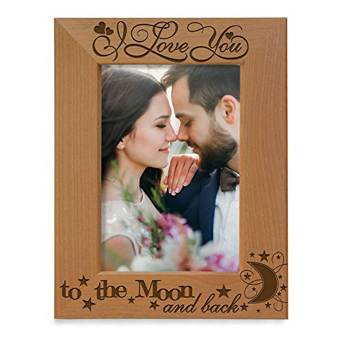 Engraved Wooden Picture Frame