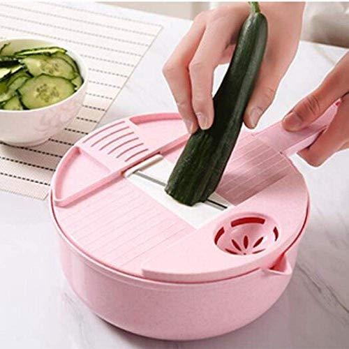 PJPPJH Küchenschneider, Artefakt zum Schneiden von Gemüse, Multifunktions-Gemüseschneider für den Haushalt, Schredder, Topfschneider, Schredder Größe: 28X18,5X7,5 cm