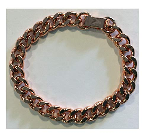 6.5-inch Ladies' or Child's 100% Small-linked Copper Bracelet