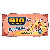 Rio Mare, PerPasta Condimento Pronto alla Salentina con Tonno, Olive Nere, Doppio Concentrato di Pomodoro e Aromi Naturali, 2 Lattine da 160 g