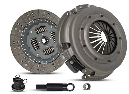 Clutch Kit Works With Dodge Ram 1500-3500 B150 B1500-B3500 Laramie Sport St Base Standard Extended Cab Pickup 1994-2002 3.9L V6 5.2L V8 5.9L V8 GAS OHV Naturally Aspirated