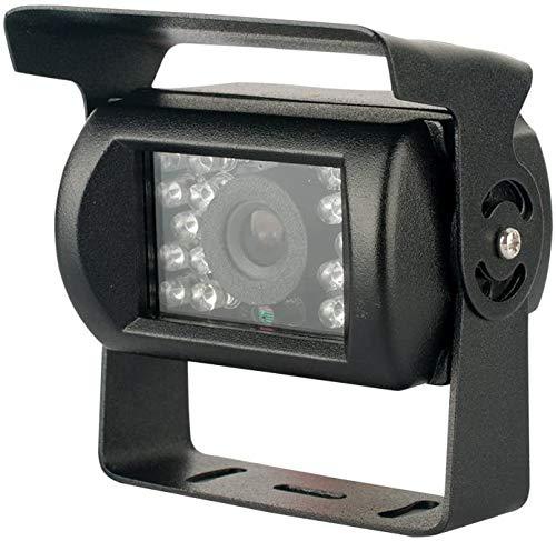 Comprare Web - Telecamera retromarcia per auto e camper 18 led infrarossi visione notturna a colori con staffa camera assistenza parcheggio (BIANCO)