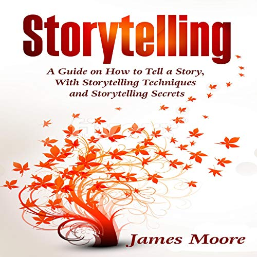 Storytelling audiobook cover art