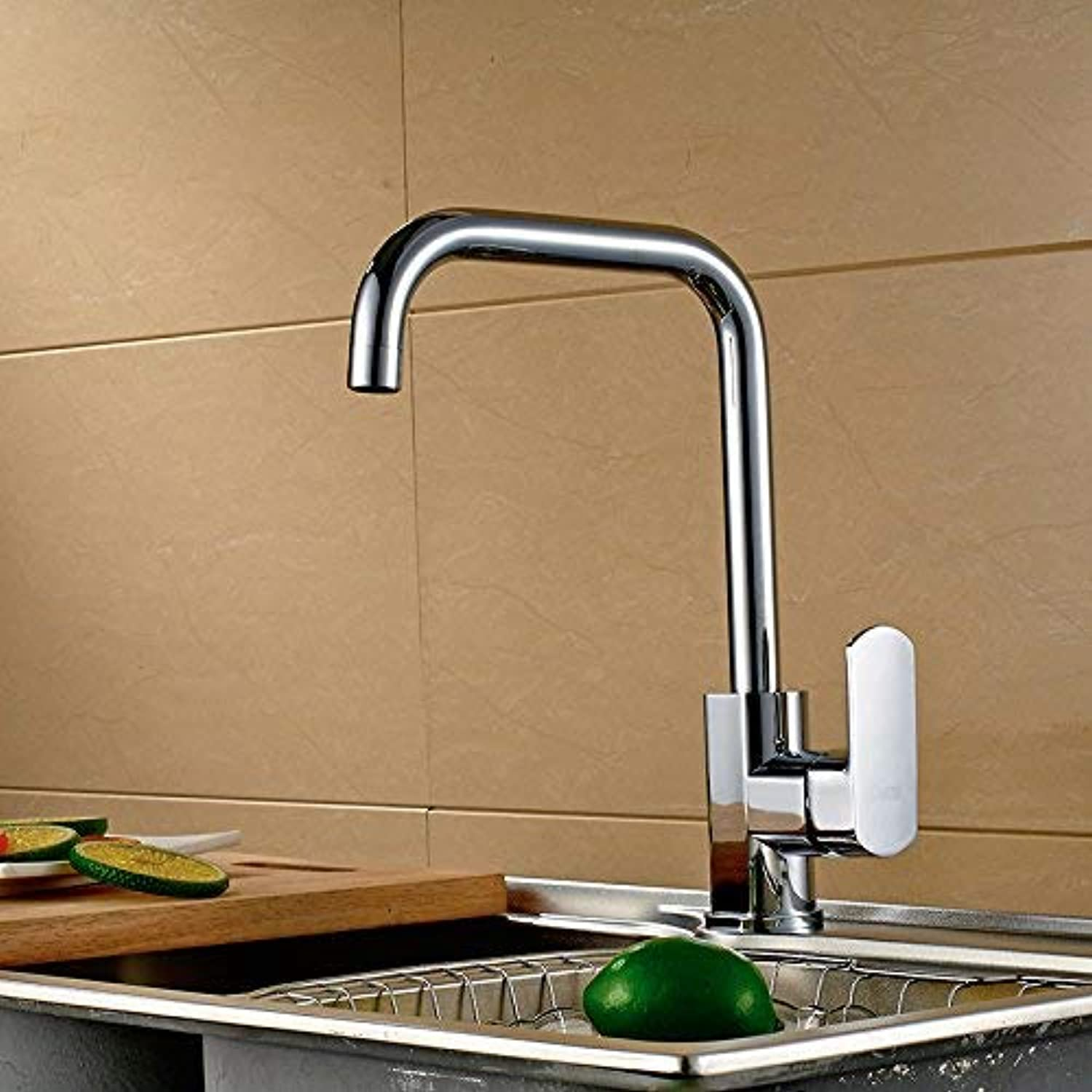 Oudan Modern Kitchen Sink Mixer Tap Easy to install rust-proof Kitchen Sink Basin Faucet Quality Warranty Provided,81