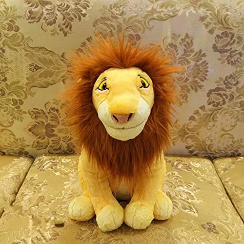 zcm Plüschtier Original Cartoon Der König Der Löwen Mufasa Cute Stuff Plüschtier Puppe Geburtstagsgeschenk Für Kinder