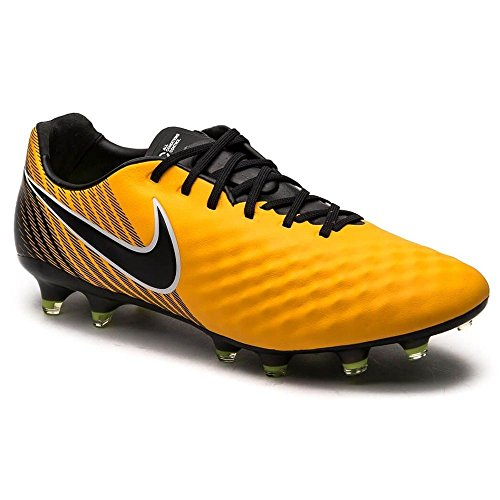 Nike Men's Magista Opus II FG Soccer Cleats (9, Orange/Black-White-Volt)