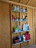 VersaCaddy Open Stud 32' x 48' Storage Shelving Garage Organizer Shed Storage Shelves