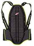 Zandona Shield Evo Protecteur de dos Noir/Jaune 180/195 cm