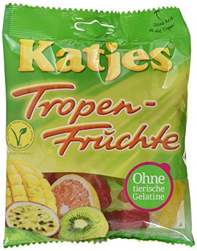 Katjes Tropenfrüchte, 20er Pack (20 x 200 g Beutel)