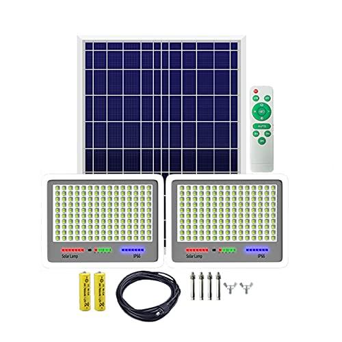 WKZ Foco Solar Exterior Potente, Lente Cóncava, Material De Aluminio Fundido A PresióN Impermeable IP 66 Solar Proyector, Luces Solares Led Exterior Jardin Decorativas(Size:1000W)