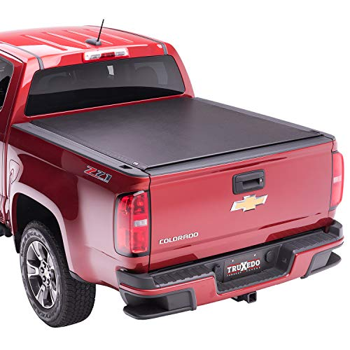 TruXedo Lo Pro Soft Roll Up Truck Bed Tonneau Cover | 549901 | fits 15-20 GMC Canyon & Chevrolet Colorado w/Sport Bar 5' bed