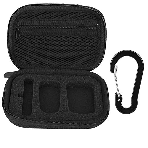VBESTLIFE microfoon opbergtas, hoogwaardige nylon draagbare harde beschermhoes opbergtas voor Blink 500 B1 draadloze microfoon, stevig, duurzaam en slijtvast