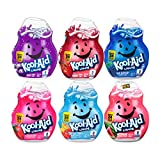 Kool-Aid Liquid Drink Mix Variety Pack, Includes 1 Cherry, 1 Grape, 1 Tropical Punch, 1 Strawberry, 1 Blue Raspberry, 1 Watermelon