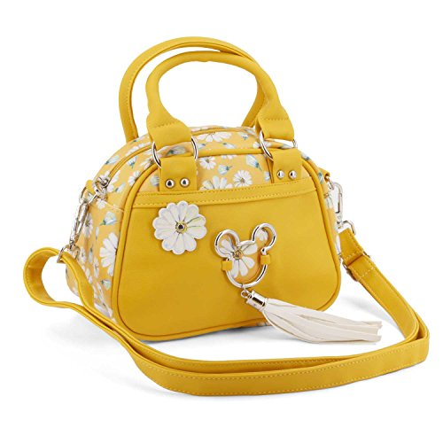 Karactermania Mickey Mouse Camomilla-Bowling Fashion Handbag Umhängetasche, 22 cm, Gelb (Yellow)