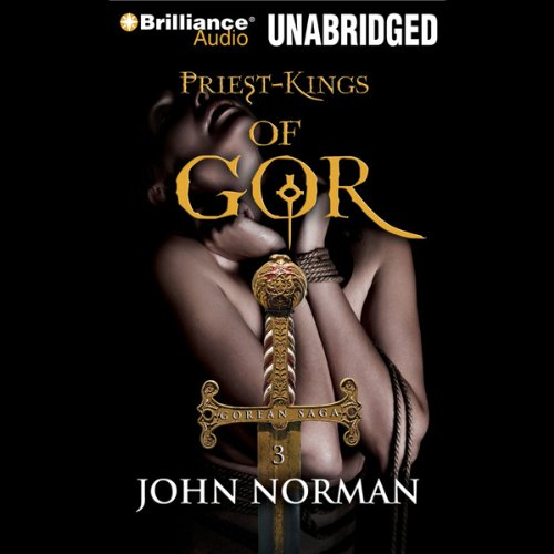Priest-Kings of Gor audiobook cover art