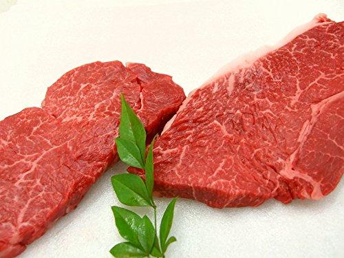 厳選 【 黒毛和牛 牝牛限定 】 上ヒレ ステーキ肉 と 赤身モモ ステーキ肉 2枚セット
