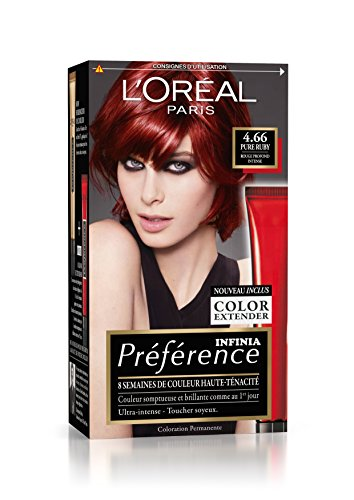 coloration cheveux rouge