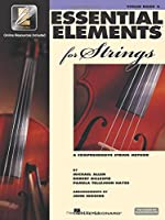 Essential Elements for Strings: A Comprehensive String Method : Violin, Book 2