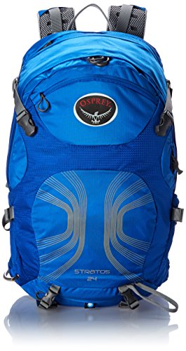 Osprey Packs Stratos 24 Backpack (2016 Model), Harbor Blue, Small/Medium
