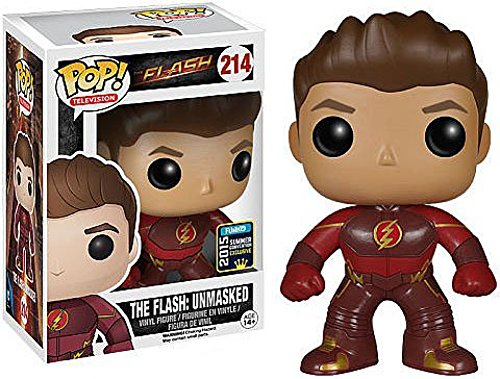 Funko Pop! Television #214 The Flash Unmasked Flash (2015 SDCC Exclusive) image