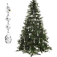 30-Pack Free Yoka Acrylic Chandelier Pendants Crystal Ball Drops Christmas Ornaments Tree Decorations