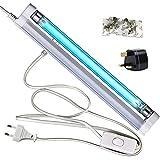 Lampada Germicida UV 220V 8W Luce UVC Senza Ozono per Armadio, Cucina, Bagno, Soppalco, Casa per...