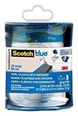 Image of ScotchBlue Pre taped. Brand catalog list of Scotch Painter's Tape. Rated with a 4.6 over 5