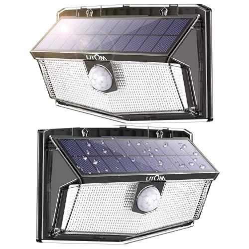 LITOM -  300 LED Solarlampen