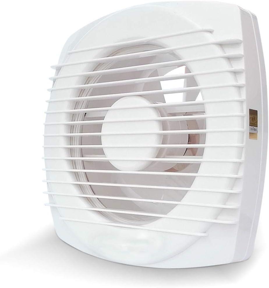 QIQIDEDIAN Ventilador de Escape 6 Pulgadas Ventilador de ventilación baño Extractor Ventana de Vidrio Ventana baño Extractor Ventilador Doble cordón