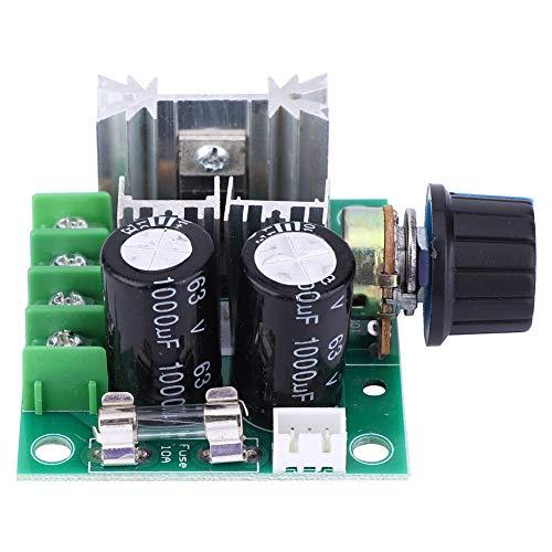 Controlador de velocidad del motor CC, 10A CC 12V 24V 36V 40V PWM Interruptor del módulo del regulador del regulador de velocidad del motor CC