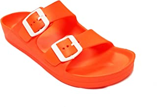 H2K Womens Gladiator Orange Size: 10