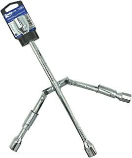 "BRUFER 72350 4-Way Folding Lug Wrench 14"""