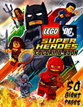 LEGO DC Super Heroes Coloring Book: Great Coloring Book for Kids and Fans – GIANT 50 Pages with High Quality Images
