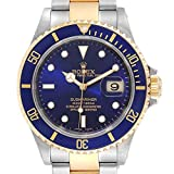 Rolex Submariner Automatic-Self-Wind 16613 - Reloj de Pulsera para Hombre (Certificado prepropietario)