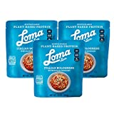 Loma Linda Blue - Plant-Based Complete Meal Solution - Heat & Eat Italian Bolognese with Konjac...